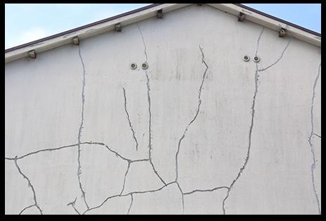 外壁修復のリフォーム1